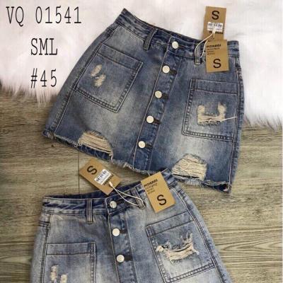 Chân váy jean nữ OEM021