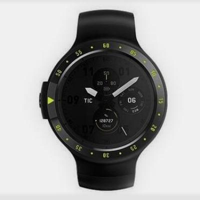 TICWATCH S Knight / Đen